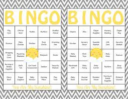 You Are My Sunshine Baby Bedding by 60 Baby Bingo Cards You Are My Sunshine Baby Game