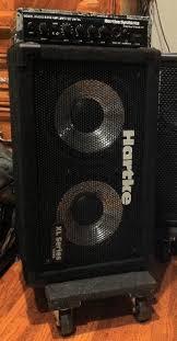 2x10 Bass Cabinet 8 Ohm by Hartke Xl Series 210xl 200w 8ohm 2x10