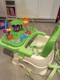 Find More Fisher Price Rainforest Booster/high Chair For Sale At Up ... Fisherprice Spacesaver High Chair Rainforest Friends Buy Online Cheap Fisher Price Toys Find Baby Chair In Very Good Cditions Rainforest Replacement Parrot Bobble Toy Healthy Care Rainforest Bouncer Lights Music Nature Sounds Awesome Kohls 10 Best Doll Stroller Reviewed In 2019 Tenbuyerguidecom The Play Gyms Of Price Jumperoo Malta Superseat Deluxe Giggles Island Educational Infant 2016 Top 8 Chairs For Babies Lounge