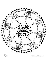 Owl And Witch Mandala