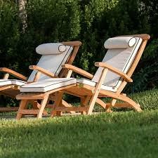 barbuda classic teak steamer deck chair westminster teak outdoor