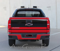 100 Chevy Decals For Trucks 2015 2016 2017 2018 2019 Colorado Rear Tailgate GRAND