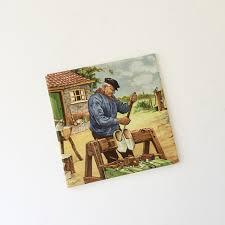 Royal Mosa Tile Canada by Vintage Dutch Tile Royal Mosa Holland Dutch Clog Maker