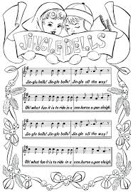 Christmas Music Coloring Sheets Pages Free Printable Jingle Bells Sheet It Opinion Unbelievably Fresh