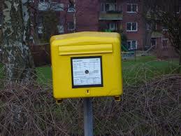 DicForAll Bedeutung Briefkasten
