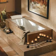 Chandelier Over Bathtub Soaking Tub by Jacuzzi Whirlpool Fuz7236w Fuzion Undermount Drop In Tub At Atg