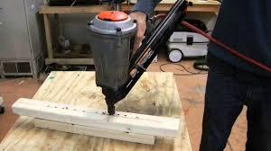 Wood Floor Nailer Gun by Paslode Pneumatic Framing Nail Gun For Sale On Ebay Youtube