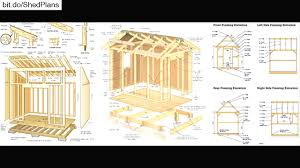 8x10 Shed Plans Materials List Free by Shed Plans Free 12 16 Youtube Best 8 10 Alovejourney Me
