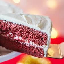 gingerbread velvet cake