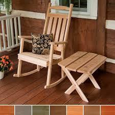 Classic Porch Rocking Chair – Red Cedar