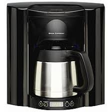 Brew Express BE 110 BB Black 10 Cup Built In Coffee System