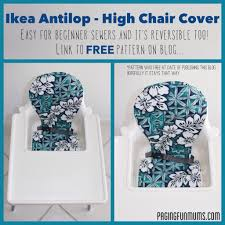 100 High Chair Pattern Ikea Antilop Cover Louise Paging Fun Mums