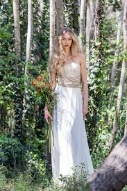 Golden Lace Bridal Dress Romantic Gown Wedding Custom Rustic Marriage Bride