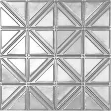 White Tin Ceiling Tiles Home Depot by Shanko 2 Ft X 4 Ft Nail Up Direct Application Tin Ceiling Tile
