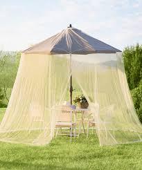 Mosquito Netting For Patio Umbrella Black by Plow U0026 Hearth Tan Umbrella Mosquito Net Zulily
