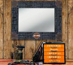 Harley Davidson Home Decor Mirrors Design Bathroom