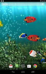 fond gratuit animé aquarium applications android sur play
