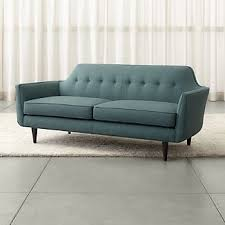 Danish Modern Sofa Sleeper by Mid Century Modern Couches Crate And Barrel