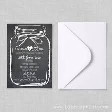 Rustic Mason Jar Wedding Invitations Country Invitation Templates Cheap Barn Invites