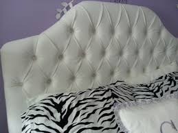 White Velvet King Headboard by White Tufted Upholstered Headboard Twin Full Queen King Tufted