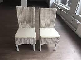 stuhl stühle rattan korb weiß dänisches bettenlager eur 90