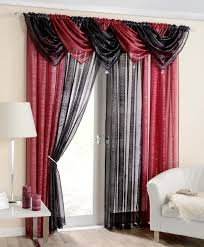 Crushed Voile Curtains Uk by Curtains Red Beautiful Red Voile Curtains Strata Voile Curtain