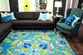 Teal Living Room Rug by A New Living Room Rug