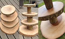 With Our Wooden Cake Stand You Need Look No Further These Tree Slices Are Sourced From The UK Using A Sustainable Source Of Wood Slice Rustic Wedding
