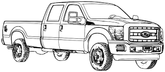 Coloring Pages Trucks And Cars Car Truck Page