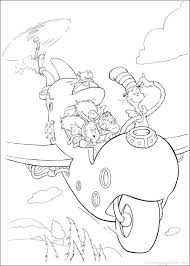 Full Image For Free Online Dr Seuss Coloring Pages The Cat In Hat