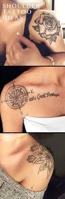 Trendy Cute Shoulder Tattoo Ideas For Women