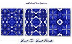 pin by hearttoheartprints on navy cobalt royal blue white wall art