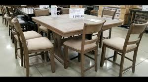 Costco! Counter Height Dining Tables With 8 Chairs! $999 - $1199!!! 9 Piece Ding Room Set Costco House Bolton Intended For 6 Sets Canada Cheap Leather Chairs Find Cove Bay Clearance Patio Small Depot Hampton Chair Pike Main 5 Pc Counter Height W Saddle Table Lovely Universal Pin By Annora On Round End Table Outdoor Tables Bayside Furnishings 699 Kitchen Fniture Attached Tablecloth Drawers Home Interior Design