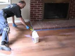 refinishing hardwood floors part 3 apply finish youtube