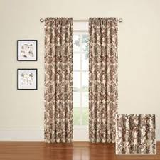 mainstays chevron polyester cotton curtain panels set of 2