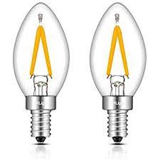 crlight 1w led filament c7 light bulb 2700k warm white