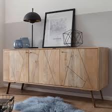 kadima design design sideboard mango massivholz 160 x 77 x