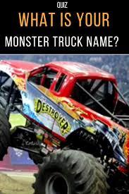 100 Monster Trucks Names Whats Your Truck Name Trucks