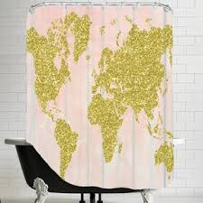 Old World Shower Curtain