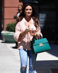 Kyle Richards Halloween by Kyle Richards In Jeans At Go Greek Yogurt In Beverly Hills