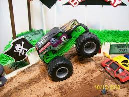 100 Ninja Turtle Monster Truck Cakes By Chris Grave Digger Cakes Truck