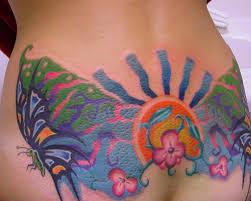 35 Overwhelming Hawaiian Flower Tattoos