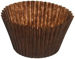 Amazon DECONY Brown Standard Size Cupcake Paper Baking Cup