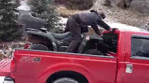 Billy Demonstrating How NOT To Load An ATV Into A Truck - YouTube Diy Atv Lawnmwer Loading Ramps Youtube The Best Pickup Truck Ramp Ever Madramps And Utv Transport Made Easy Four Wheeler Ramps For Lifted Trucks Truck Pictures Quad Load Hauling The 4 Wheeler In Bed Polaris Forum 1956 Ford C500 Cab Auto Art Cool Pinterest Atvs More Safely With By Longrampscom Demstration Of Haulmaster Motorcycle Lift Ramp Loading A Made Easy Loadall V3 Short Sureweld Wheel Riser Front Wheels Ramp Champ
