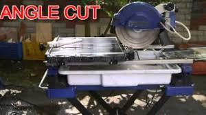 Kobalt Tile Cutter You Tube by Genesis Tilt Head Tile Saw 7th250 Youtube