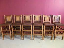 Rustic Bar Chairs Stylish Stools Restaurant Furniture