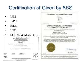 bureau of shipping abs classification society