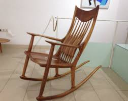 Sam Maloof Rocking Chair Video by Sam Maloof Etsy