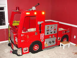 Plastic Fire Truck Toddler Bed Light — Toddler Bed : Fun Plastic ...