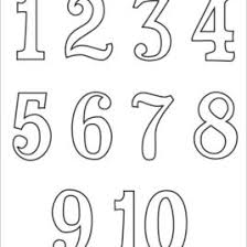 Full Size Of Coloring Page1 10 Pages Numbers And Free Printable On 268x268 Large